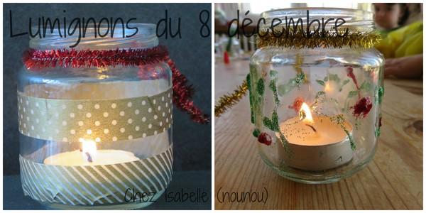 Le blog d 39 isabelle nounou ch tel guyon for Decoration lumignon 8 decembre